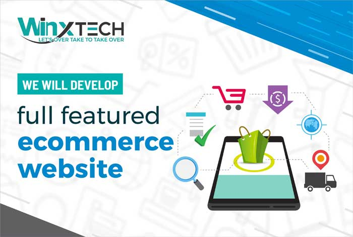 WINX Technologies  - We Will Develop full featured Ecommerce Website