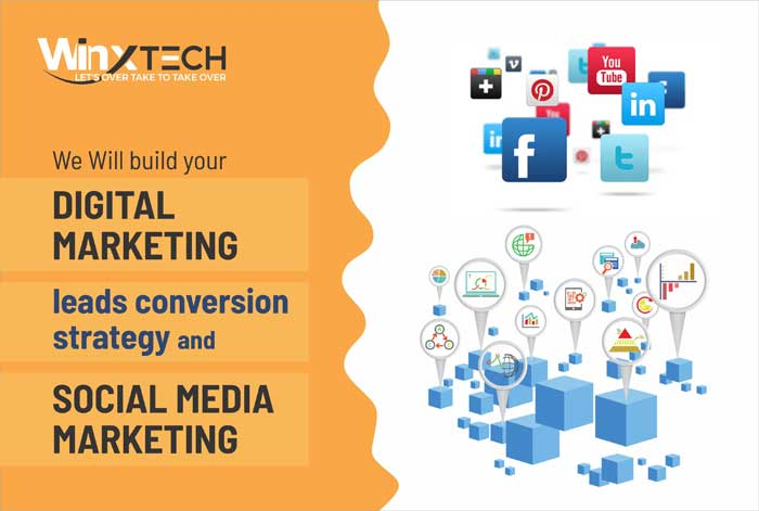 WINX Technologies  - We Will Build your Digital Marketing Leads Conversion Strategy and Social Media Marketing