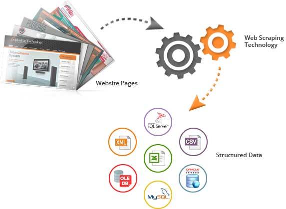 Web Scraping Process WINX Technologies