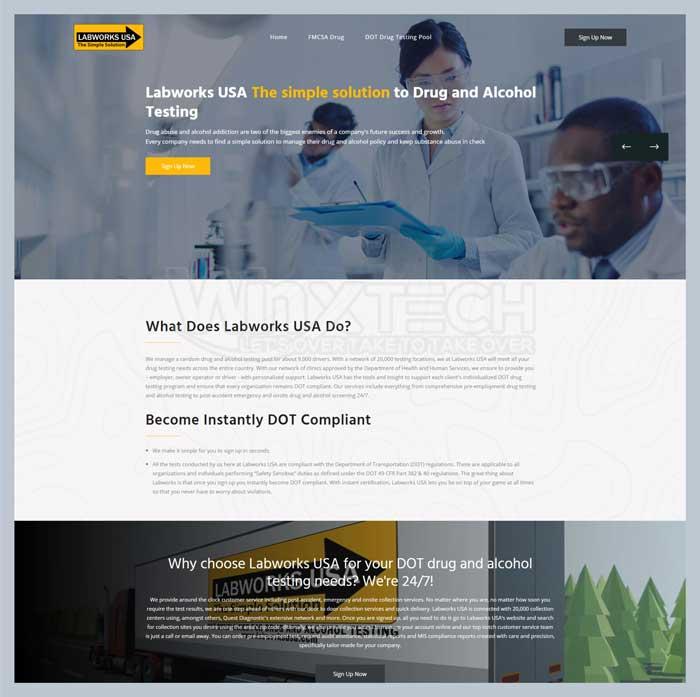 Drug Testing Pool - WINX Technologies