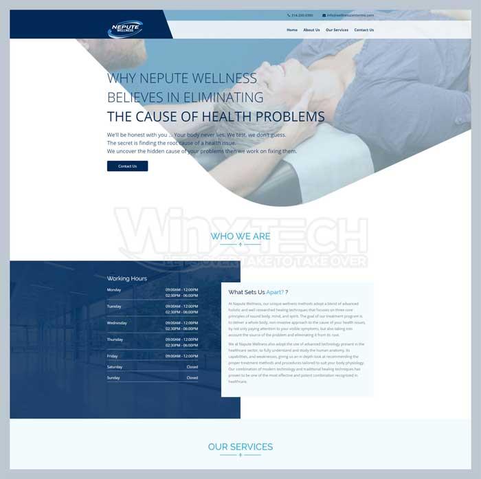 Wellness Center MO - WINX Technologies